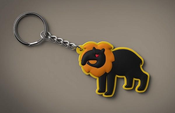 Merchandise von tapyr mische - Schlüsselanhänger